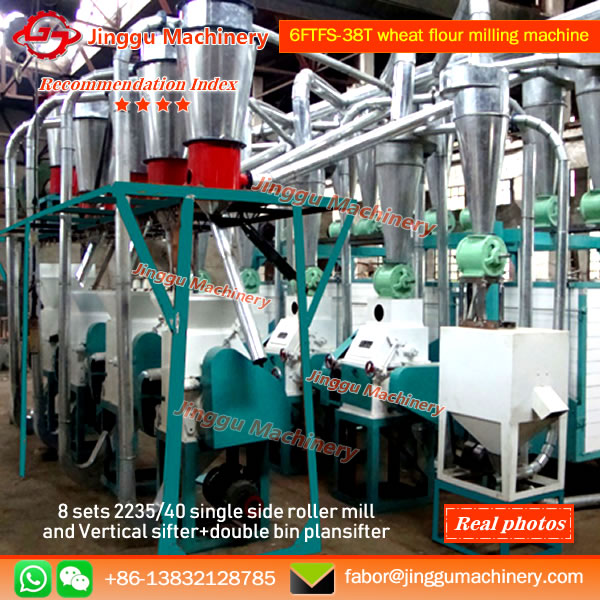 6FTFS-38T wheat flour milling machine | 8-unit wheat flour milling machine