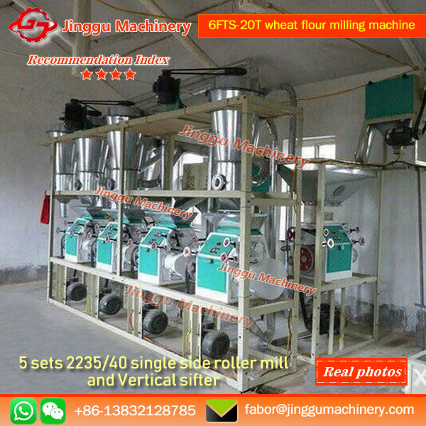 6FTS-20T wheat flour milling machine | Jinggu Brand wheat flour milling machine