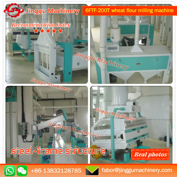 6FTF-200T wheat flour milling machine | High quality wheat flour machine