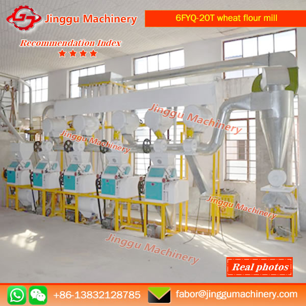 6FYQ-20T wheat flour mill