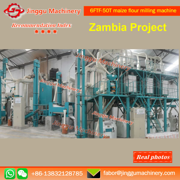 6FTF-50T maize flour milling machine