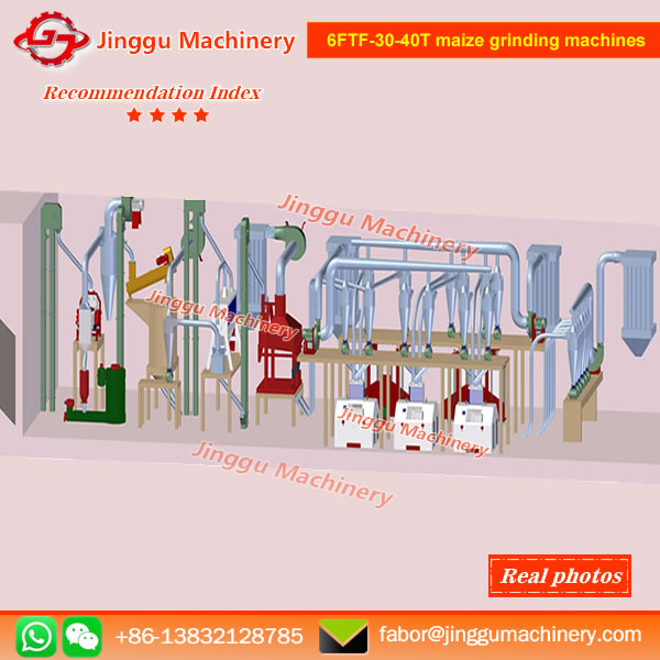 6FTF-30-40T maize grinding machines | maize flour grinding plant