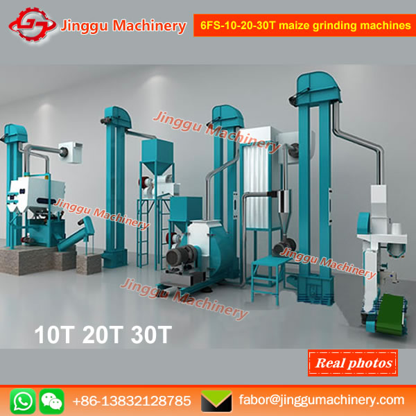 6FS-10-20-30T maize grinding machines | corn flour grinding machine | maize flour production line