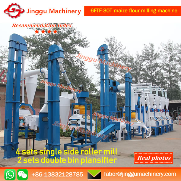 6FTF-30T maize flour milling machine | Maize Flour Processing Machine