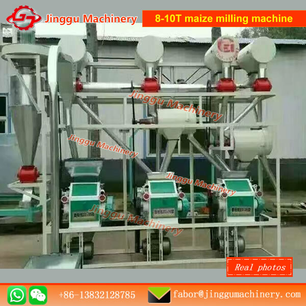 6fyq-20t small scale wheat milling machine