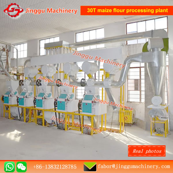 corn flour making machine20T complete set corn flour milling linecorn flour making line for sale