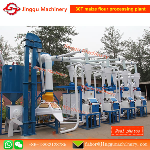maize milling factoryapplication of 30T/D maize flour milling factorymaize milling machine with price
