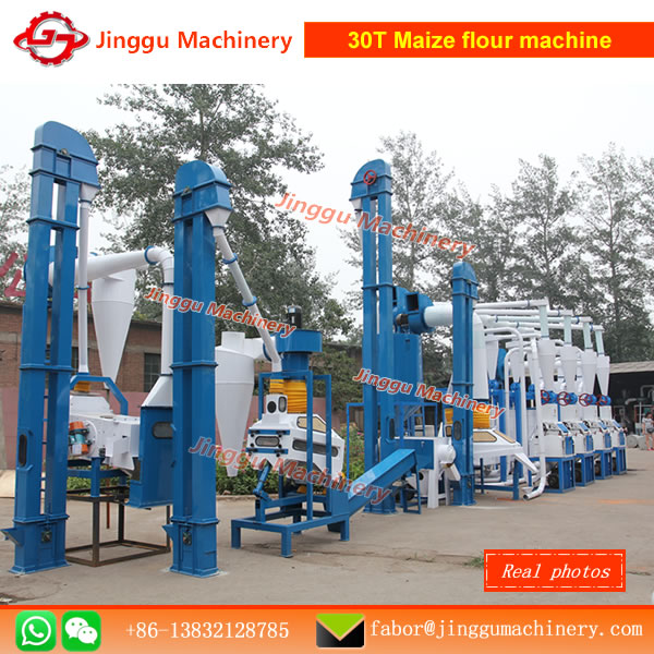 30T corn flour milling machinecorn flour making machinecorn flour processing linecorn flour making mahcines