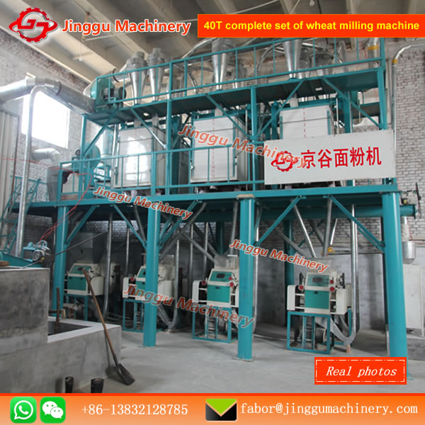 40T home wheat flour mill for salehome wheat flour milling machineJinggu Machinery supply high quality wheat flour mill machine for home use