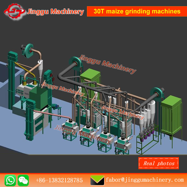 30T maize grinding machines | maize flour/grits grinding machine