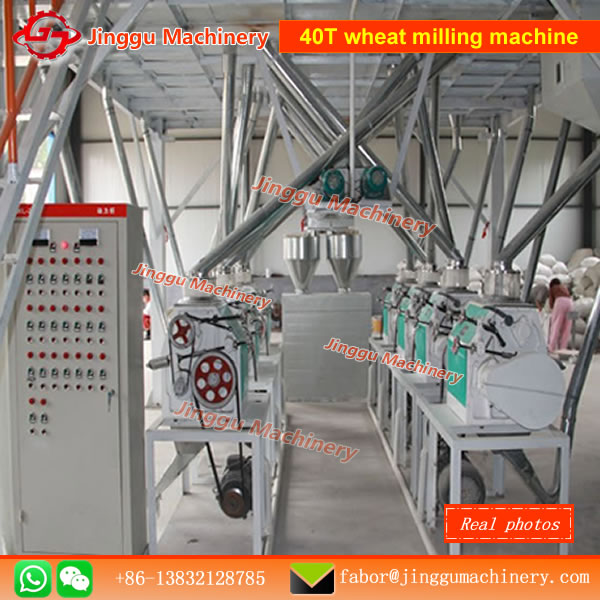 Complets set of 40T wheat flour milling machine