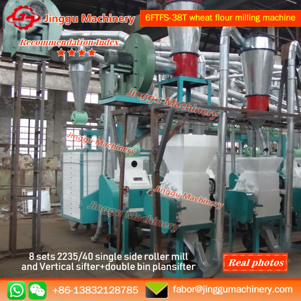 6FTFS-38T wheat flour milling machine
