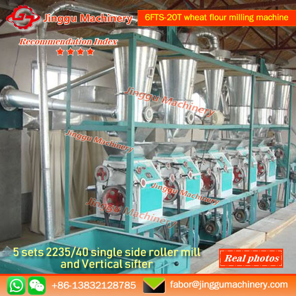 6FTS-20T wheat flour mill
