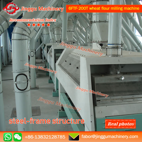 6FTF-200T wheat flour milling machine