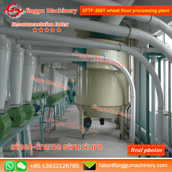 6FTF-200T wheat flour processing plant