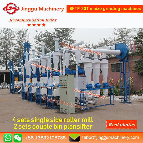 6FTF-30T maize grinding machines
