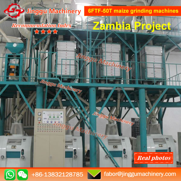 6FTF-50T maize grinding machines