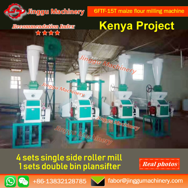 6FTF-15T maize flour milling machine