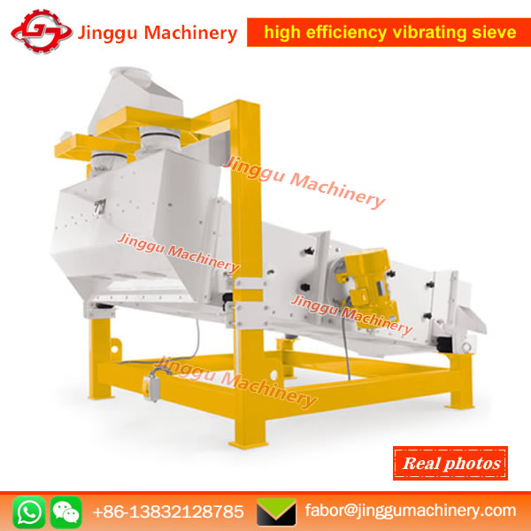 Working principle of high efficiency vibrating sieve