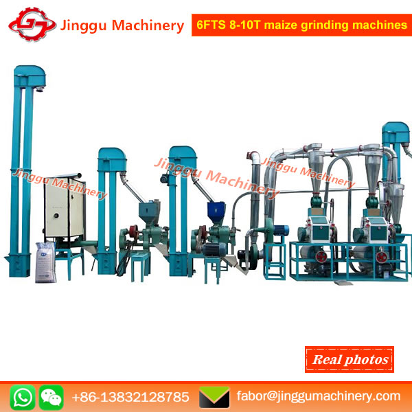 6FTS 8-10T maize grinding machines