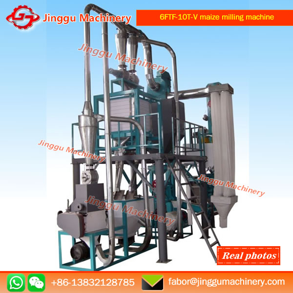 6FTF-10T Vertical structure maize milling machine
