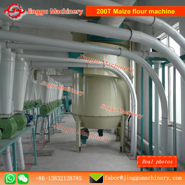 200T Maize flour machine