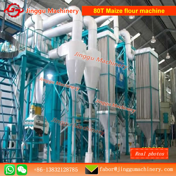 80T Maize flour machine