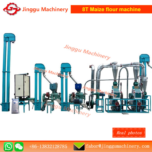 8T Maize flour machine