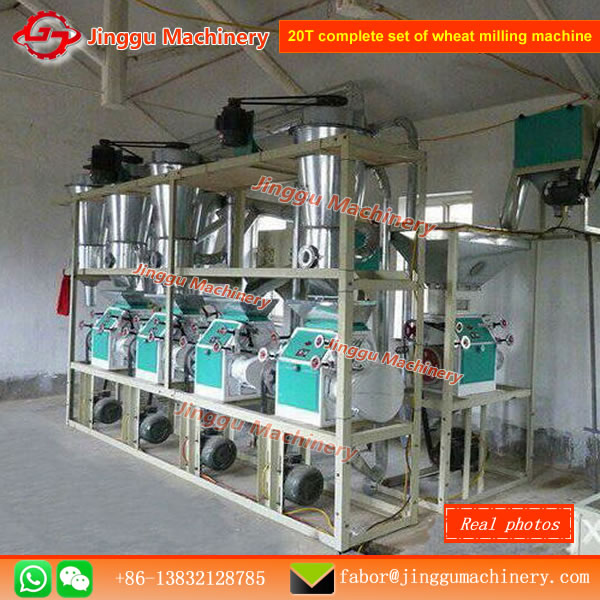 20T complete set of wheat milling machine
