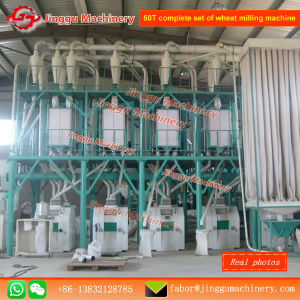 50T complete set of wheat milling machine