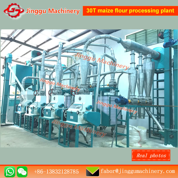 30T maize flour processing plant