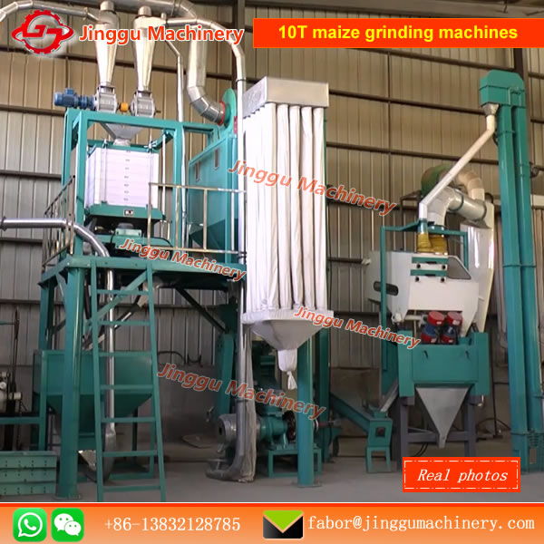 10T maize grinding machines