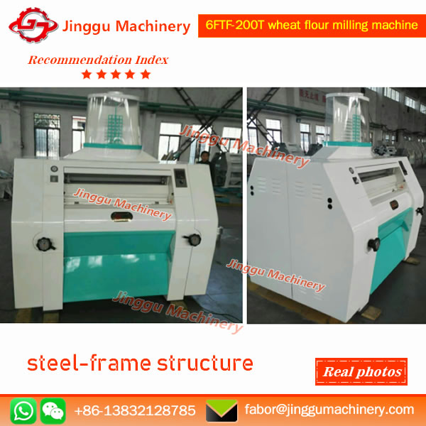 Roller mill of  wheat flour machine