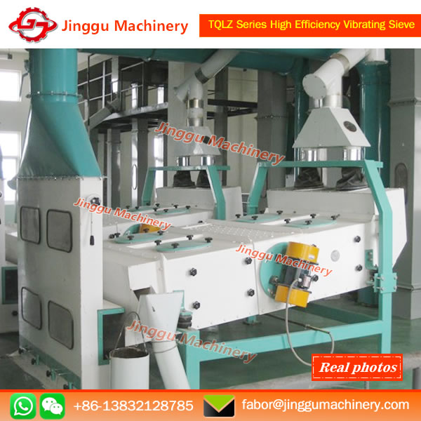 TQLZ Series High Effciency Vibrating Sieve